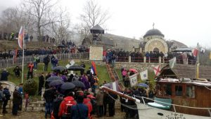 U Starom Brodu kod Višegrada danas je obilježeno 76 godina od ustaškog pokolja 6.000 Srba iz istočnog dijela BiH