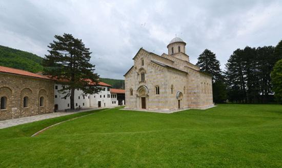 Na proveri statika manastira Visoki Dečani (Foto: D. Dozet)