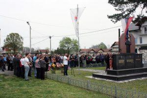 U Miloševcu kod Modriče danas je obilježeno 26 godina od osnivanja Miloševačke čete Vojske Republike Srpske čijih je devet pripadnika poginulo u proteklom odbrambeno-otadžbinskom ratu.