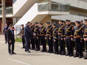 Predsjednik Republike Srpske Milorad Dodik i ministar unutrašnjih poslova Dragan Lukač položili su vijence na spomen-obilježje za 782 poginula pripadnika MUP-a u proteklom Odbrambeno-otadžbinskom ratu.