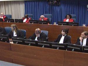 Izricanje presude Šešelju u Hagu Foto: RTS