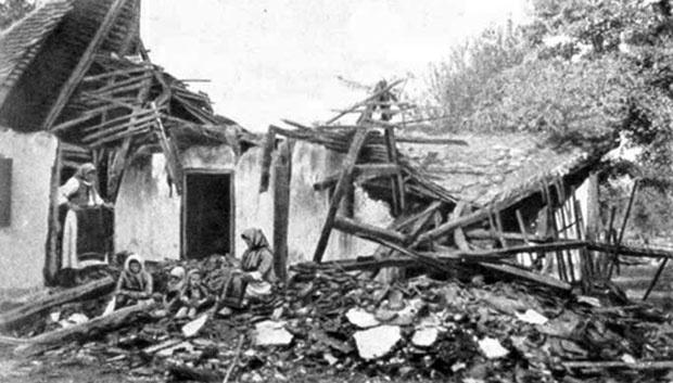 U Mačvi je nad Srbima napravljen masakr / 1914.