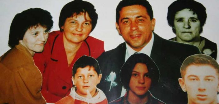Surdulica – Milići; S leva na desno: Milica, Vesna, Aleksandar, Stamenka, Vladimir, Ljiljana, Miomir; foto: Vranjska Plus