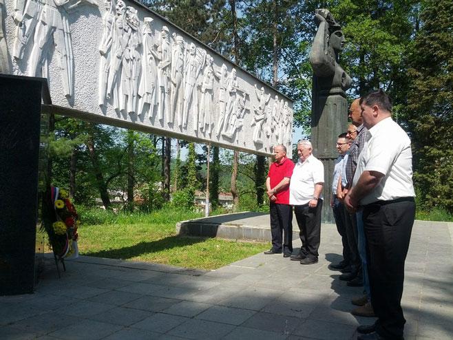 Novi Grad: Obilježeno 73 godine od oslobođenja opštine u Drugom svjetskom ratu. Foto: SRNA