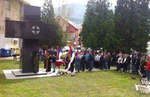 Pripadnici Srpske dobrovoljačke garde iz Šekovića danas su u tom gradu obilježili 26 godina od formiranja ove ratne jedinice.