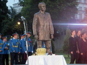 Spomenik Gavrilu Principu u Beogradu Foto: SRNA