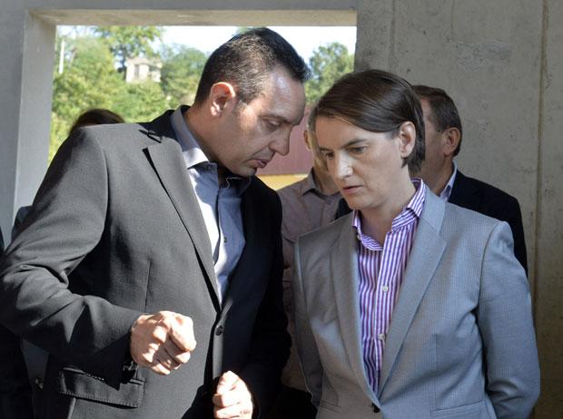 Vulin i Brnabićeva