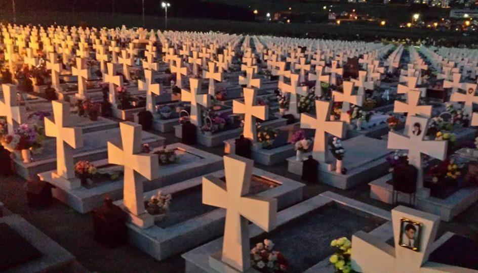 Vojničko groblje poginulih boraca VRS, Mali Zejtinlik na Sokocu