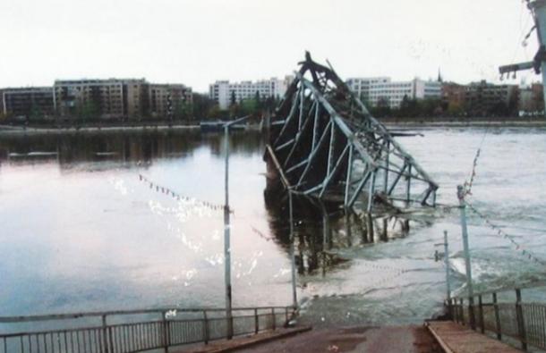 Srušen Varadinski most