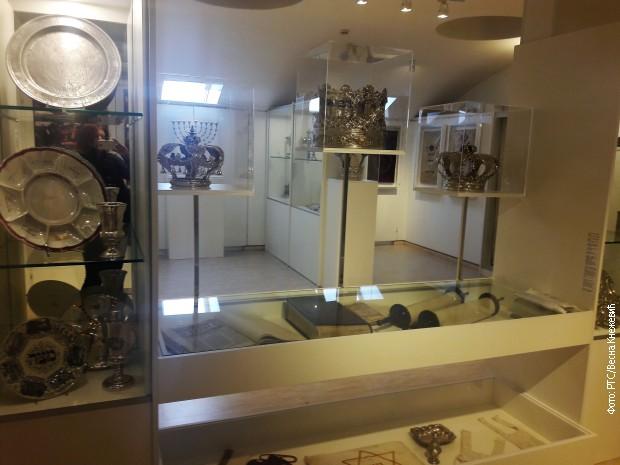 Detalj iz Muzeja zagrebačke jevrejske opštine