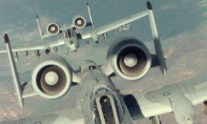 """ZLOČIN Američki bombarder """"A-10"""", takozvani ubica tenkova, iz kog su ispaljivani projektili sa osiromašenim uranijumom"""