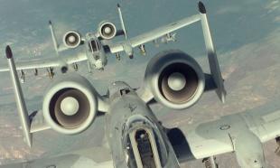 """ЗЛОЧИН Амерички бомбардер """"А-10"""", такозвани убица тенкова, из ког су испаљивани пројектили са осиромашеним уранијумом"""