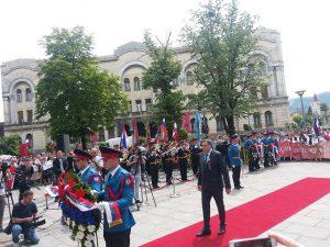 Besmrtni puk Banjaluka - polaganje vijenaca (Foto: RTRS)