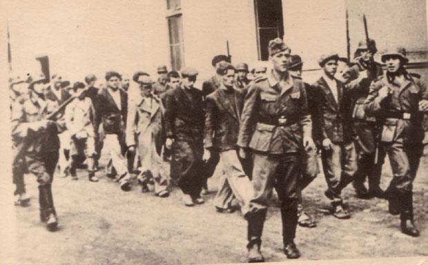 Odvođenje na streljanje u Kragujevcu