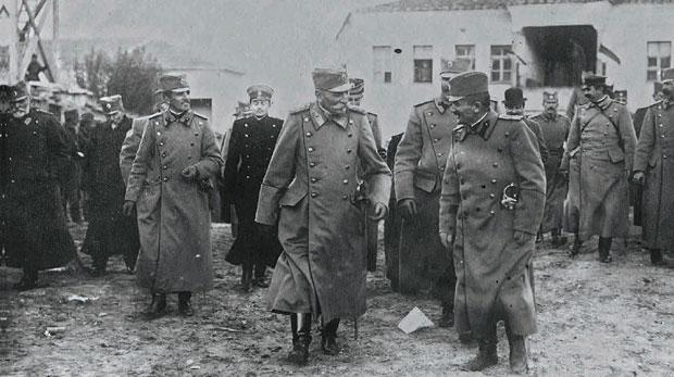 Prestolonaslednik Aleksandar i Vojvoda Putnik u oslobođenom Skoplju