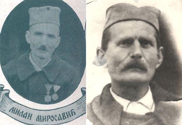 Milan Miroša i Blagoje Roljević