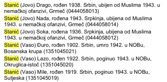 Bosna-opština Bosanski Brod – Hašani 6 Stanića