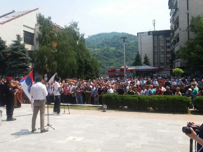 Obilježavanje godišnjice formiranja Zvorničke brigade (Foto: RTRS)
