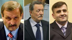 Milan Martić, Dragomir Milošević,Milan Lukić Foto OVE MAIDLA