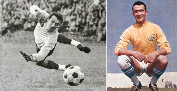 Šoškić u Timu sveta 1965.