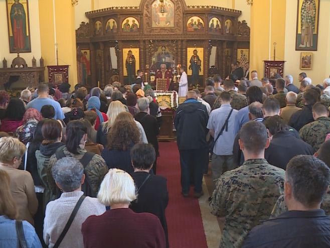 Banjaluka: Slava Prvog pješadijskog bataljona Foto: RTRS