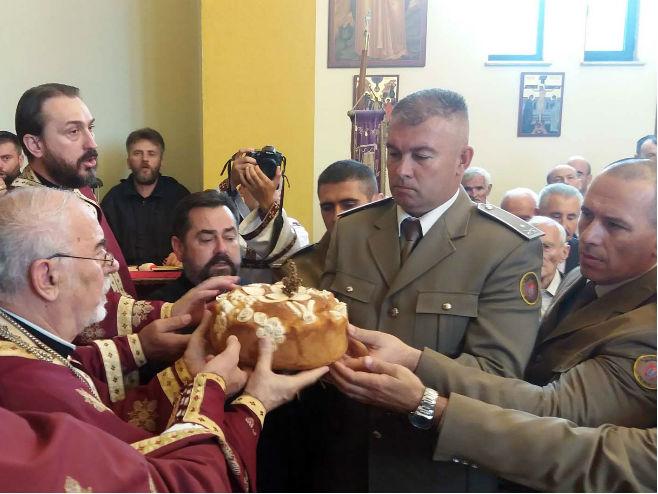 Banjaluka: Prvi pješadijski bataljon obilježio Vidovdan (Foto: SRNA)