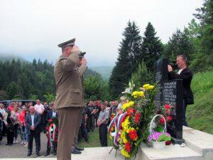 Žepa: Služen parastos na mjestu pogibije 45 srpskih boraca Foto: SRNA