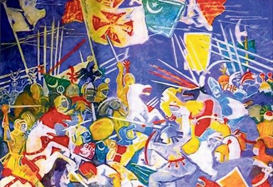 Petar Lubarda: Kosovski boj, 1953