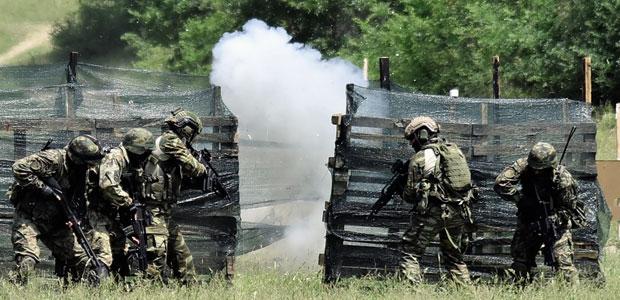 """Srpski i grčki vojnici treniraju zajedno u """"Partnerstvu za mir"""" / Foto Tanjug"""