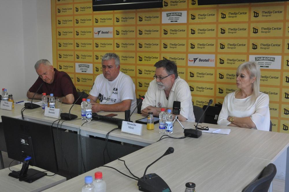 Nikola Milovančev, Dušan Bastašić i Momčilo Mirić