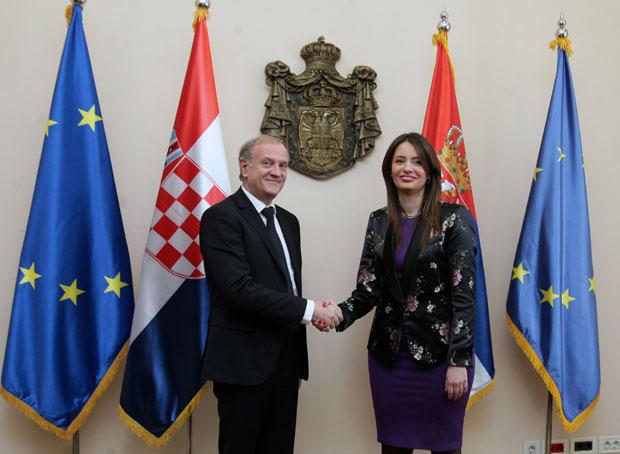 DOGOVOR Dražen Bošnjaković i Nela Kuburović u Beogradu