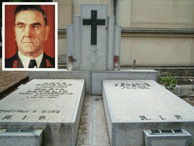Гроб Анте Павелића у Мадриду