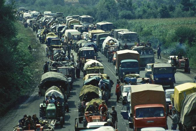 """U operaciji """"Oluja"""" proterani su krajiški Srbi (Foto Aleksandar Kelić)"""