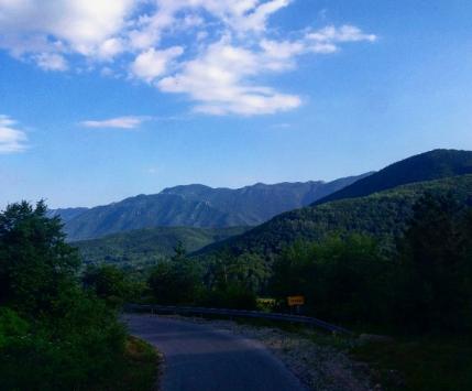 Krajolik oko područja logora Jadovno