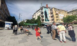 Приштина, центра града (Фото Гугл)