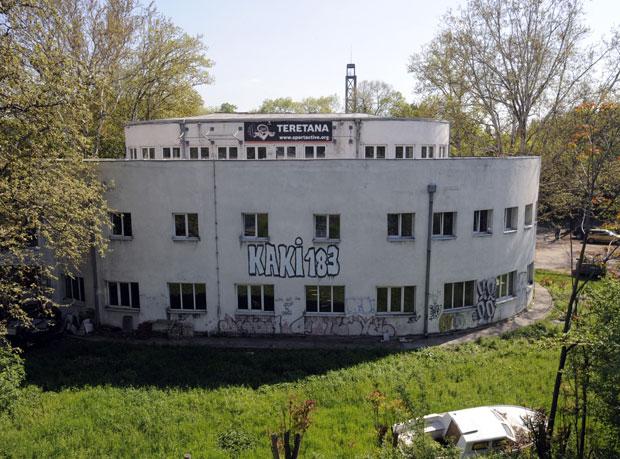 U Spasićevom paviljonu, planiranom za muzej Holokausta, nalazi se teretana ,foto N.Fifić