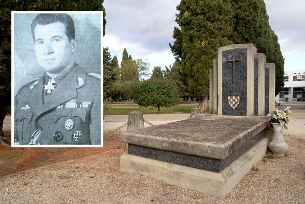 Grob Maksa Luburića u Valensiji