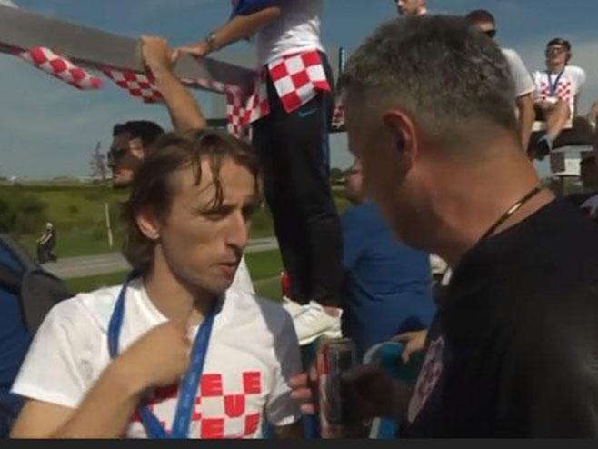 Luka Modrić, Foto: HRT