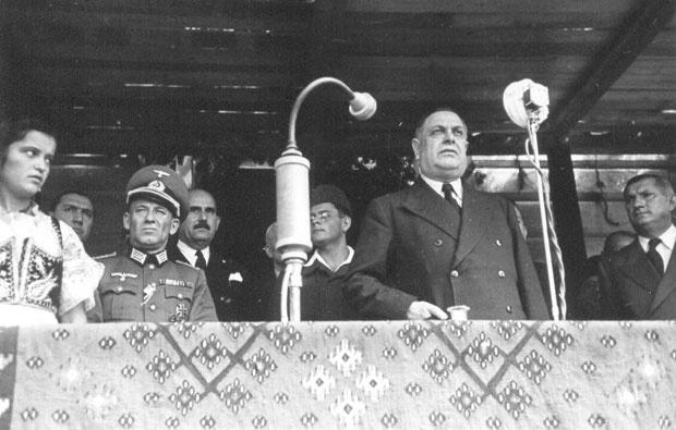 Милан Недић као премијер за време рата