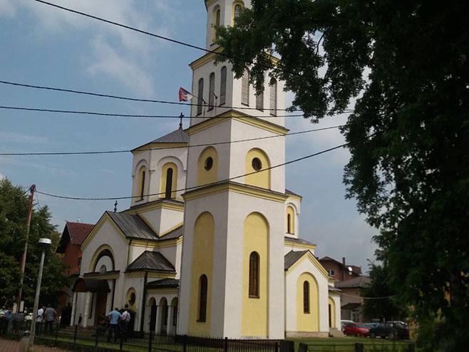 Crkva Svetog Petra i Pavla u Sanskom Mostu (Foto: RTRS)