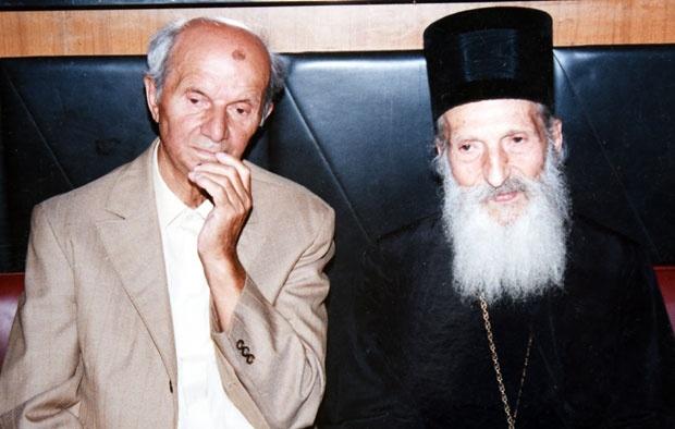 Ljuban Jednak i patrijarh Pavle