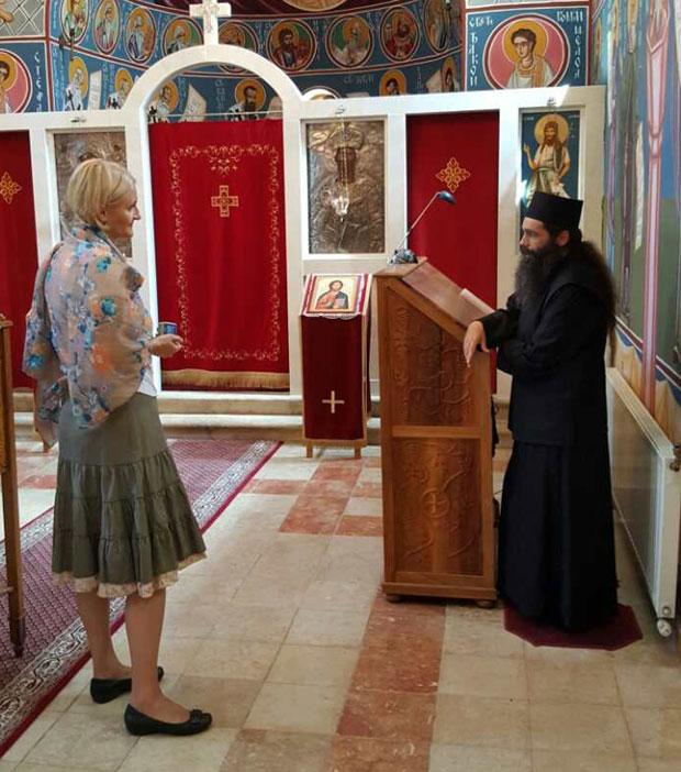 """Reporter """"Novosti"""" u manastiru Dragović"""