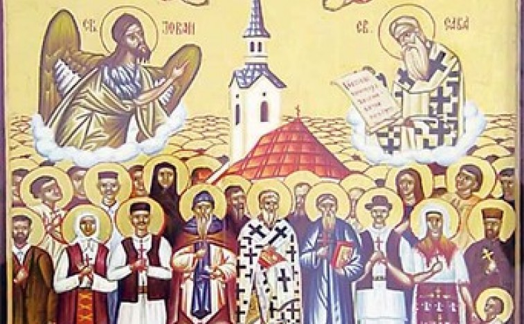 Икона из манастира Јасеновац Фото СПЦ