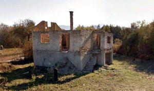 Српска имовина у Госпићу уништена до темеља / Фото Веритас