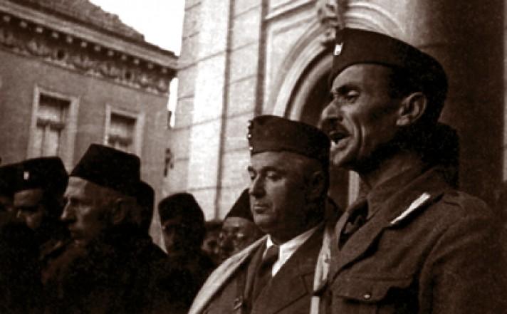 Hakija Hadžić, Petar Blasković i Jure Francetić u Sarajevu