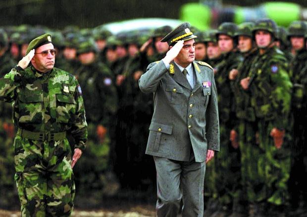 Generali Lazarević i Pavković