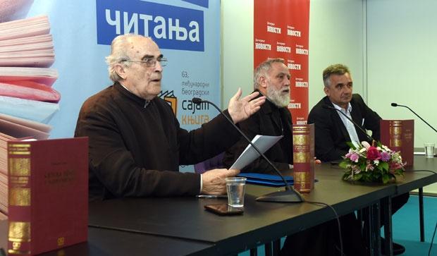 Radomir Rakić, Radomir V. Popović i Jovan Janjić / Foto N. Skenderija