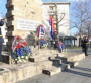 Споменик палим борцима у центру Бањалуке
