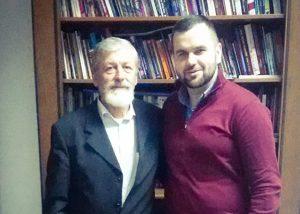 Todor Bošković i Goran Lučić