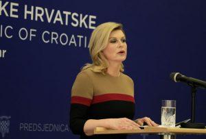 Grabar-Kitarović misli da je radila dobro /Foto: Tanjug